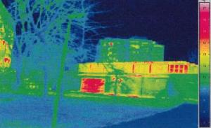 Thermographic investigation into heat loss