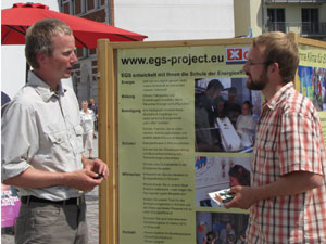 EGS at Environmental Market in Stralsund, 2009