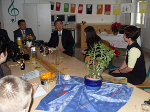 School visit of the Chinese delegation